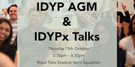 "IDYP: 2020 AGM & ""Short Talks"" tickets"