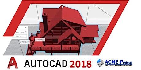 AutoCAD 2018 Basic Course tickets