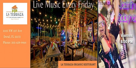Live Music with Jazmin Sabyna &  Karaoke Fridays tickets