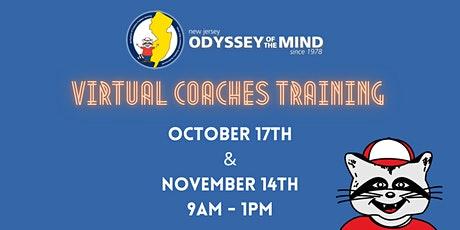 NJ Odyssey of the Mind - Virtual Coaches Training tickets