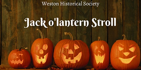 Jack O'Lantern Stroll at the Weston Historical Society tickets