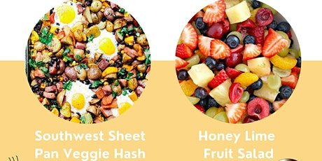 FREE LIVE COOKING DEMO - Southwest Veggie Hash & Honey Lime Fruit Salad tickets