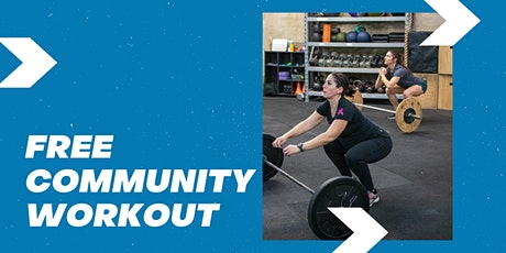 FREE Community Workout at Alamo Heights tickets