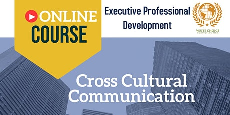 Cross Cultural Communication tickets