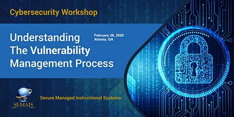 Cyber Security - Understanding The Vulnerability Management Process tickets