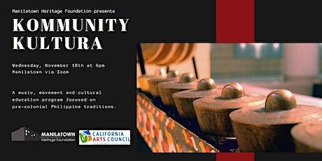 Kommunity Kultura presents Intro to Tagalog tickets