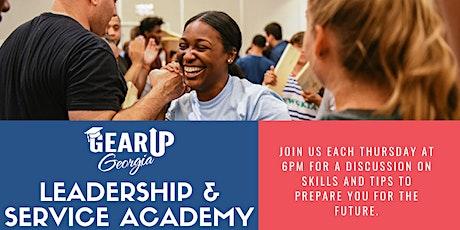 Leadership & Service Academy Webinar tickets