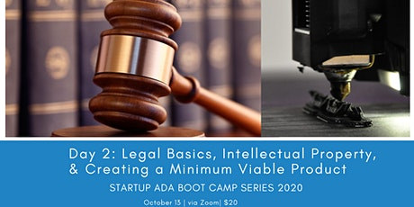 Day 2: Legal Basics, IP & Creating an MVP, Startup Ada BootCamp Series 2020 tickets