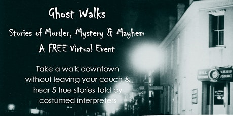 Rogers Historical Museum Virtual Ghost Walks tickets