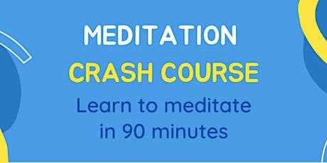 Meditation Crash Course tickets