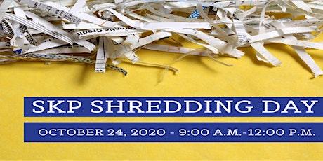 SKP Shredding Day tickets