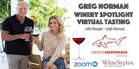 Greg Norman Estates Virtual Wine Tasting tickets