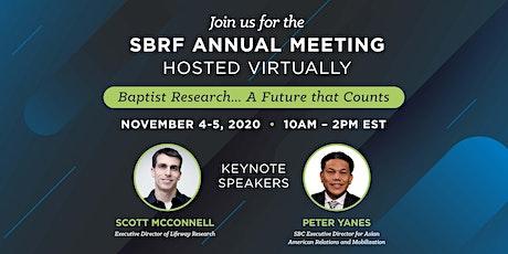 SBRF 2020 Annual Meeting tickets