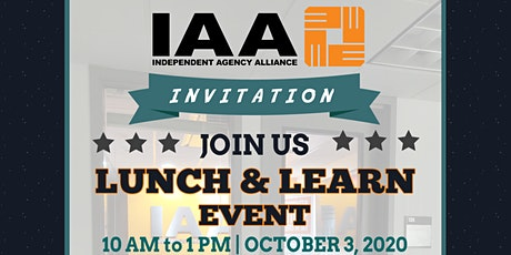 "IAA CHICAGO ""LUNCH & LEARN"" EVENT! tickets"