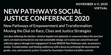 MOVING THE DIAL ON RACE, CLASS AND JUSTICE STRATEGIES | New Pathways tickets