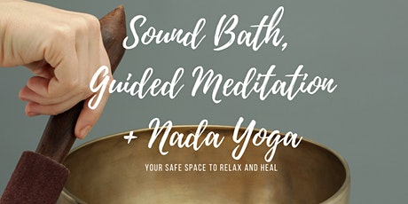 Sound Bath and Guided Meditation / in-person, small group tickets