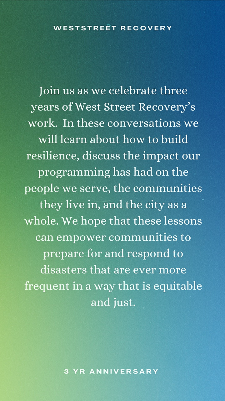 We are our own solution: Community Power in the age of Disaster image