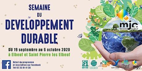 La semaine du développement durable de la MJC Région d'Elbeuf billets