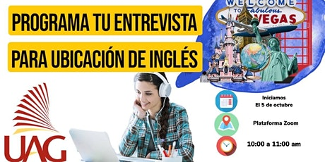 Entrevista de Ubicación de Inglés entradas