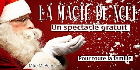 La magie de Noël - Spectacle gratuit Zoom tickets