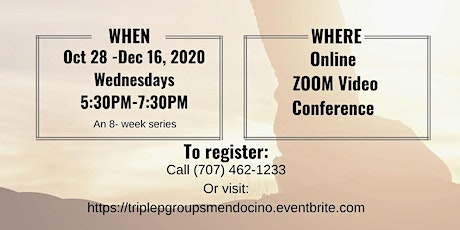 Triple P Parenting Group - ZOOM Video Conference[Oct 28 - Dec 16, 2020]
