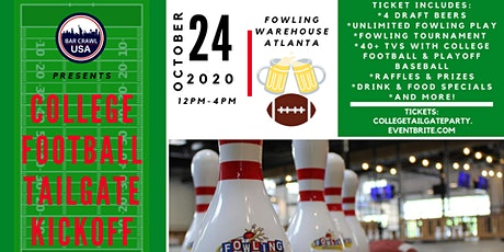 College Football Watch Party & Fowling Tournament tickets