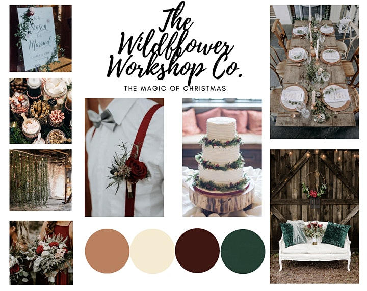 The Wildflower Workshop Co presents The Magic of Christmas image