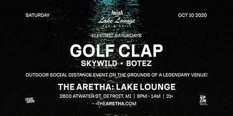 Lake Lounge at The Aretha with Golf Clap tickets