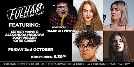 Jamie Allerton & Friend tickets