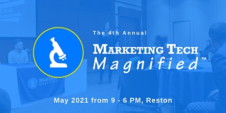 Marketing Tech Magnified 2020 tickets
