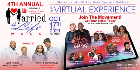 4th Annual Married 4 Life Walk Virtual Experience tickets