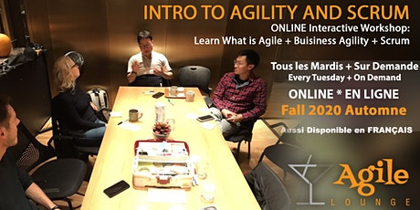 Introduction à  l'Agilité -  Atelier en Ligne tickets