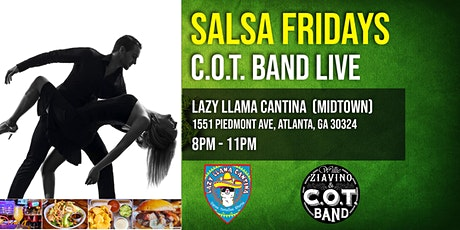 Salsa Friday Nights in Midtown - Live Latin Music Band - Salsa Dance tickets