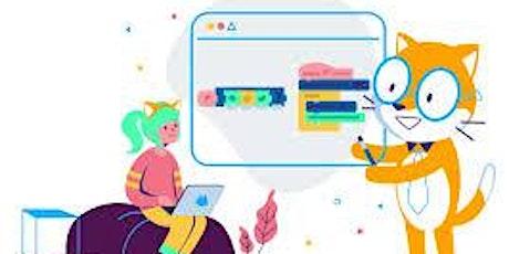 Aulas Experimentais Gratuitas de Scratch bilhetes