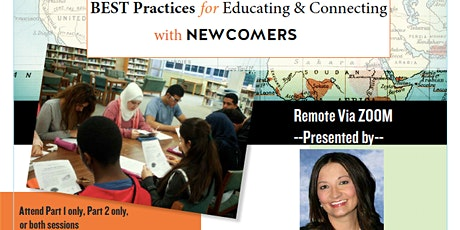 Best Practices for Newcomers, Part 2 - November 21, 2020 tickets