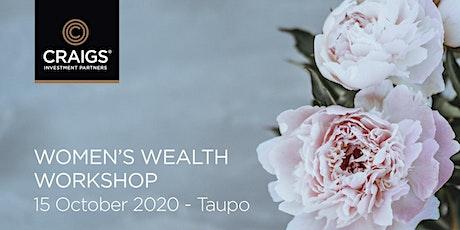 Women's Wealth Workshop - Taupo tickets