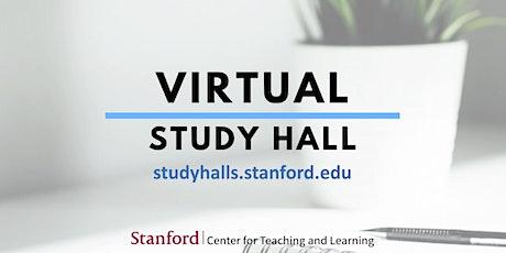 Virtual Study Hall 10/25/20 tickets