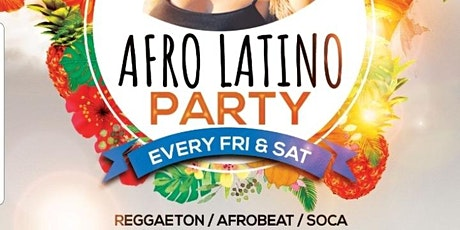 AFRO CARIBBEAN, AFRO LATINA PARTY  @Queens Lounge tickets