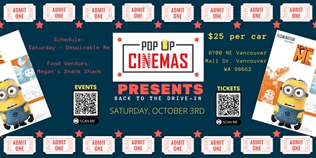 Pop Up Cinema - Vancouver Mall tickets