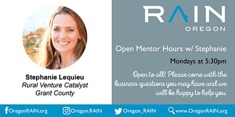 Open Mentor Hours w/Stephanie tickets