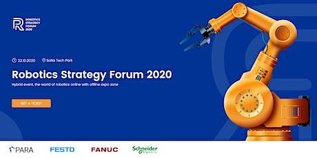 Robotics Strategy Forum 2020 tickets