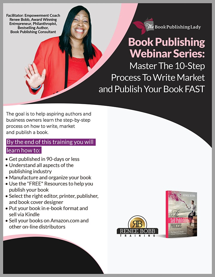 Book Publishing Workshop: 10 Step Process to Write and Publish a Book image