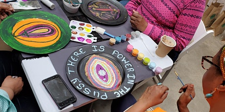 The Pvssy Plate Painting Party for Suffrage: 39 Plates for 39 Women tickets
