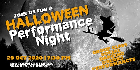 Halloween Performance Night tickets