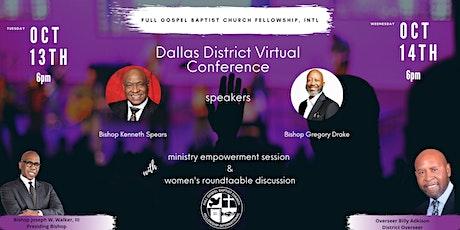 Dallas District Conference tickets