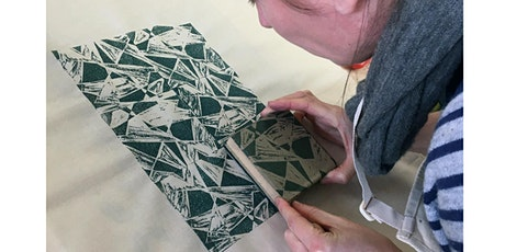 Block carving and printing - 1 day workshop tickets