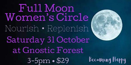 Full Moon Women's Circle - October 31st tickets
