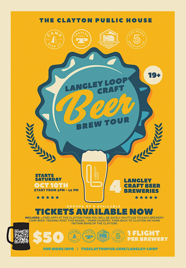 THE LANGLEY LOOP BREW TOUR image