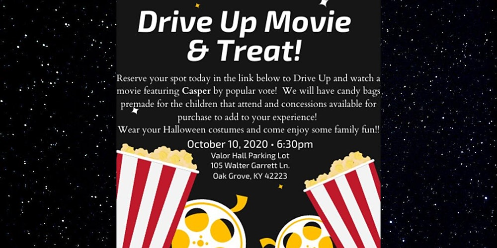 Oak Grove Memorial Park Halloween 2020 Drive Up Movie & Treat! Tickets, Sat, Oct 10, 2020 at 6:30 PM