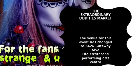 The Extraordinary Oddities Market tickets